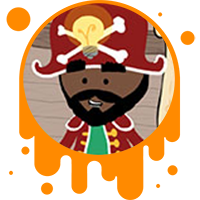 Picture link of a cartoon pirate to the competing solutions page.