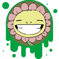 Picture link of a smiling cartoon flower to the flow of energy page.