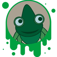 Picture link of a cartoon chemeleon to the chemeleon traits page.