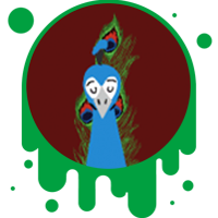 Picture link of a peacock to the peacock traits page.