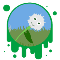 Picture link of a dandelion puff to the plant reproduction page.