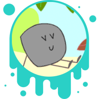 Picture link of a happy rock to the materials and energy page.